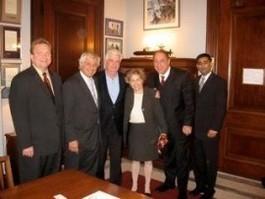 Former U.S. Senators Herb Kohl and Christopher J. Dodd